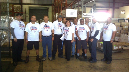 Cargo staff
